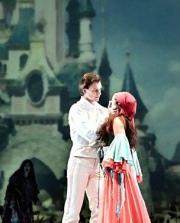 El conde Mario en La leyenda del beso. Teatro Cuyás Las Palmas, Spain